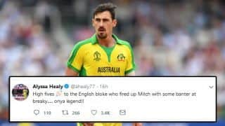 England supporters' taunt fired up Mitchell Starc
